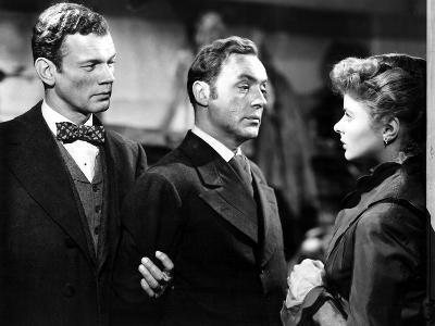 Gaslight, Joseph Cotten, Charles Boyer, Ingrid Bergman, 1944--Photo
