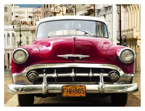 Classic American car in Habana, Cuba by Gasoline Images