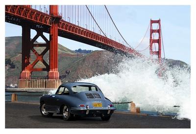 Under the Golden Gate Bridge, San Francisco