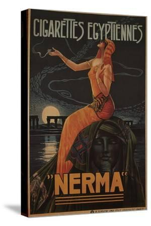 Egyptian Cigarettes Nerma, 1924