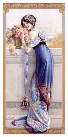 Gasper Camps Balcony Bouquet Poster
