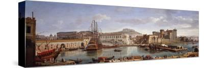 The Darsena, Naples, C.1702