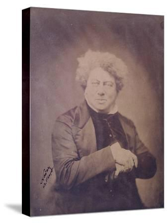 Portrait of Alexandre Dumas Pere (1803-70) C.1850-60