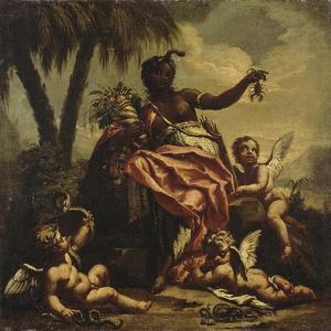 L'Afrique by Gasparo Diziani