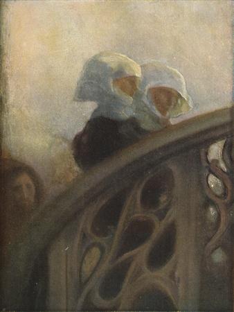 A Study of Nuns, c1896