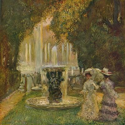 'Les Grandes Eaux A Versailles (L'Allee D'Eau)', c1908