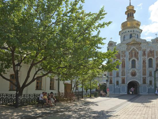 Gate Church of the Trinity, Kiev-Pechersk Lavra, UNESCO World Heritage Site, Kiev, Ukraine, Europe-Graham Lawrence-Photographic Print