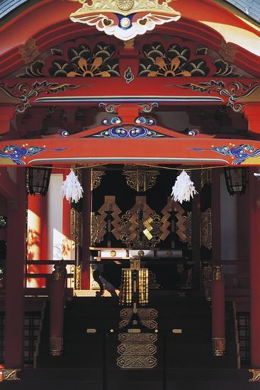 Gate Entrance to Ikuta Shinto Shrine, Kobe, Japan, 3rd Century--Giclee Print