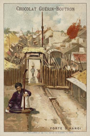Gate of Hanoi--Giclee Print