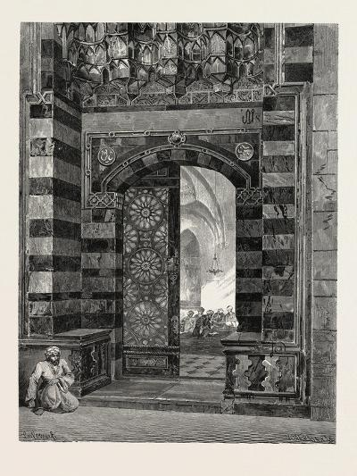 Gate of Pottage at the Mosque of El-Azhar, Egypt, 1879--Giclee Print