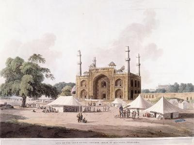 Gate of the Tomb of the Emperor Akbar-Thomas Daniell-Giclee Print