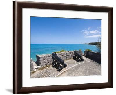 Gate's Fort Park and Fort, Bermuda, Central America-Michael DeFreitas-Framed Photographic Print