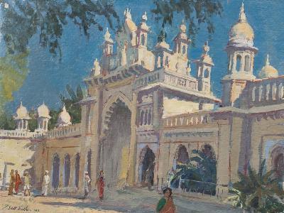 Gate, the Palace, Mysore, 2011-Tim Scott Bolton-Giclee Print