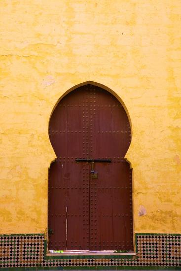Gate to Medina, Meknes, Morocco, North Africa, Africa-Neil Farrin-Photographic Print