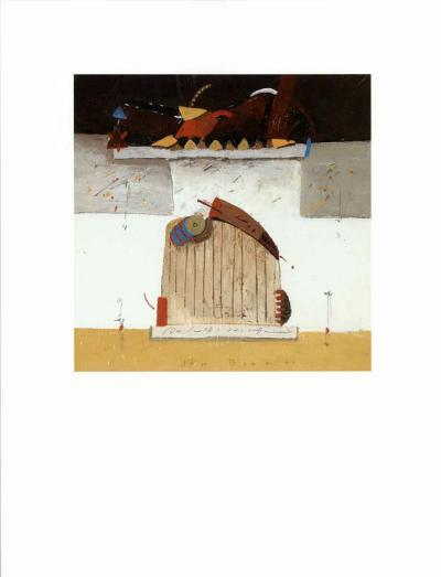 Gate to Paradise II-Theo Den Boon-Art Print