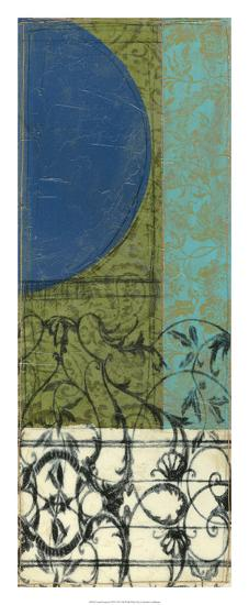 Gated Geometry III-Jennifer Goldberger-Premium Giclee Print