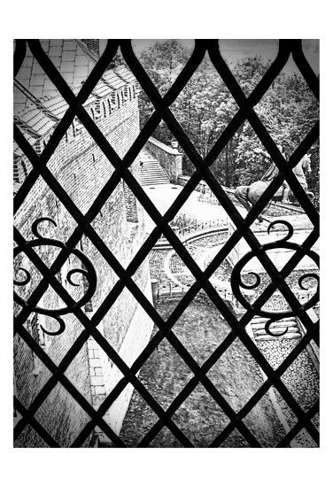 Gated View 1-Sandro De Carvalho-Art Print