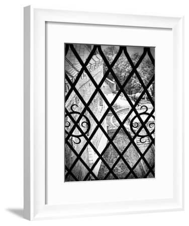 Gated View 1-Sandro De Carvalho-Framed Art Print