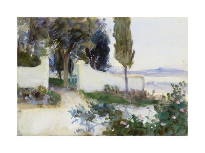 Gates of a Villa in Italy-John Singer Sargent-Giclee Print