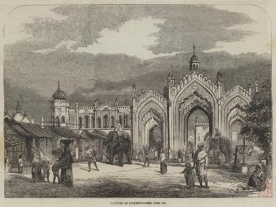 Gateway at Lucknow--Giclee Print