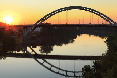 Gateway Bridge over the Cumberland River-Richard Cummins-Photographic Print