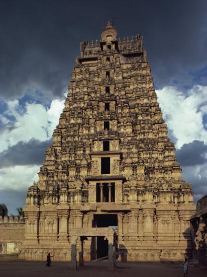 Gateway Shrine, Srirangam Temple, Tamil Nadu State, India-Woolfitt Adam-Photographic Print