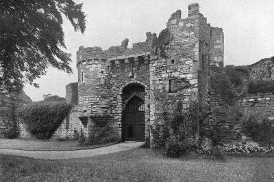 Gateway to Beaumaris Castle, Anglesey, Wales, 1924-1926--Giclee Print
