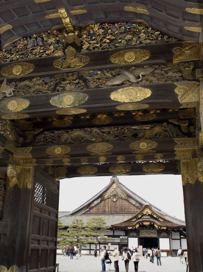Gateway to Nijo Castle, Kyoto, Japan-Richardson Rolf-Photographic Print