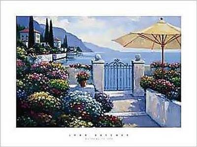 Gateway To Sea-John Zaccheo-Art Print