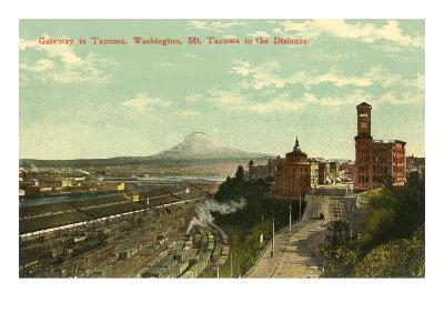 Gateway to Tacoma, Washington--Art Print