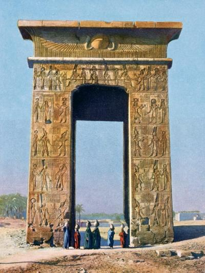 Gateway to the Temple Complex of Karnak, Luxor, Egypt, 20th Century--Giclee Print
