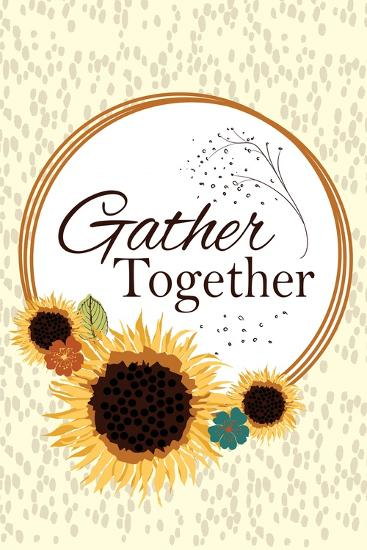 Gather Together-ND Art-Art Print