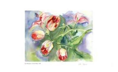 Gathered Tulips-Lynn Donoghue-Collectable Print