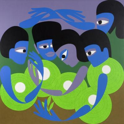 Gathering 1, 1980-Ron Waddams-Giclee Print