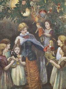 Gathering Around the Christmas Tree
