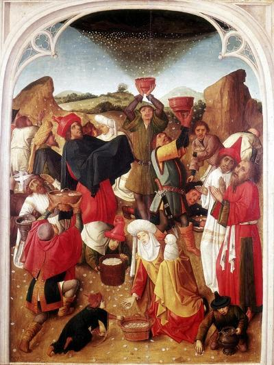 Gathering of the Manna, C1460-1475--Giclee Print
