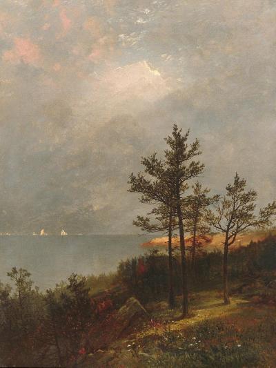 Gathering Storm on Long Island Sound, 1872-John Frederick Kensett-Giclee Print