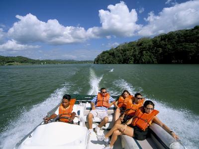 Gatun Lake, Soberania Forest National Park, Panama Canal, Panama, Central America-Sergio Pitamitz-Photographic Print
