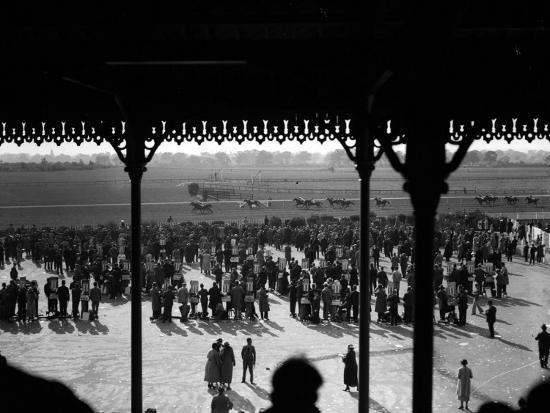 Gatwick Races--Photographic Print