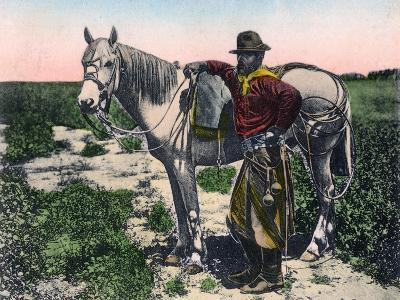 Gaucho, Argentina, Early 20th Century--Giclee Print