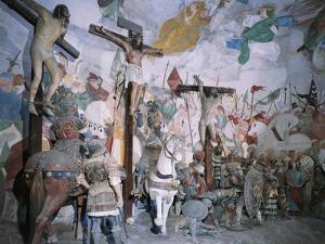 Chapel of Crucifixion by Gaudenzio Ferrari