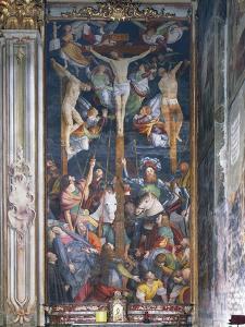 Crucifixion by Gaudenzio Ferrari