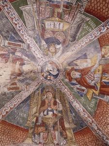 Doctors of Church, Fresco by Gaudenzio Ferrari