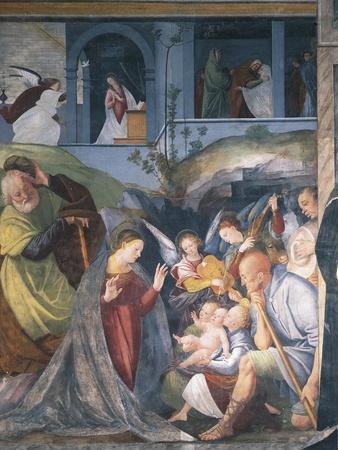 Nativity, Fresco