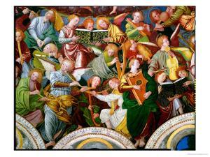 The Concert of Angels, 1534-36 (Detail) by Gaudenzio Ferrari