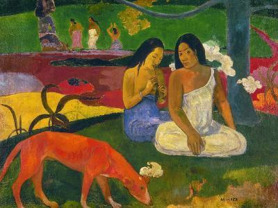 Gauguin: Arearea, 1892-Paul Gauguin-Giclee Print