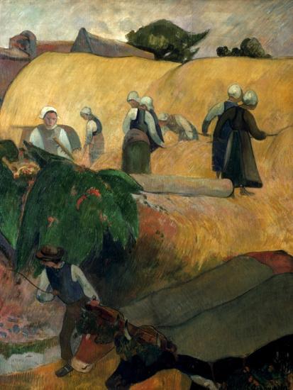 Gauguin: Breton Women-Paul Gauguin-Giclee Print