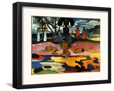 Gauguin: Day Of God, 1894-Paul Gauguin-Framed Giclee Print