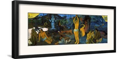 Gauguin: Painting, 1897-Paul Gauguin-Framed Giclee Print