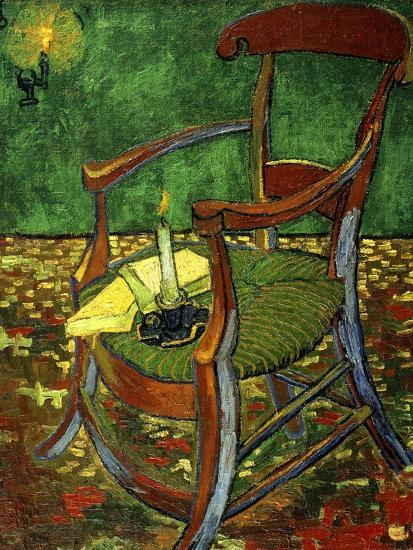 Gauguin's Chair (With Candle), 1888-Vincent van Gogh-Giclee Print